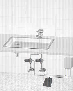 bdt fu schalter wassersteuerung f r kaltwasser und oder. Black Bedroom Furniture Sets. Home Design Ideas