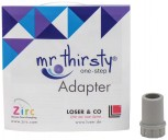 Zirc Mr. Thirsty One-Step, Adapter